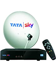 Tata Sky HD Connection with 1 Month Basic Pack and Free Installation