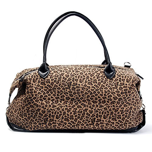Oversized Travel Tote (PU Patchwork Handbag Short-fur Velour Cheetah Shell Bag Leopard Shoulder Bag (Oversized Travel Bag))