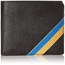 U.S.POLO. ASSN Black Mens Wallet (USAW0356)