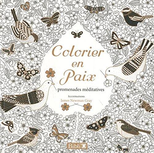 Colorier en paix : Promenades mditatives