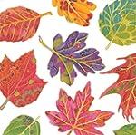 "Caspari ""Jeweled Autumn"" Luncheon Napkin"
