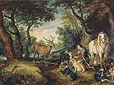 Artland Alte Meister Premium Wandbild Jan Brueghel d.Ä.
