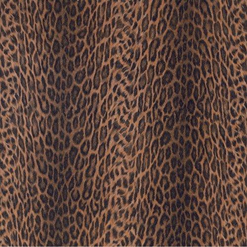 d-c-fix selbstklebende Folie Tapete Klebefolie für Möbel Küche Tür & Deko Fototapete Muster Motive versch. Maße Möbelfolie Küchenfolie Dekofolie Selbstklebefolie Leopard Fell Leopardenfell - Afrika (Leopard-folie)