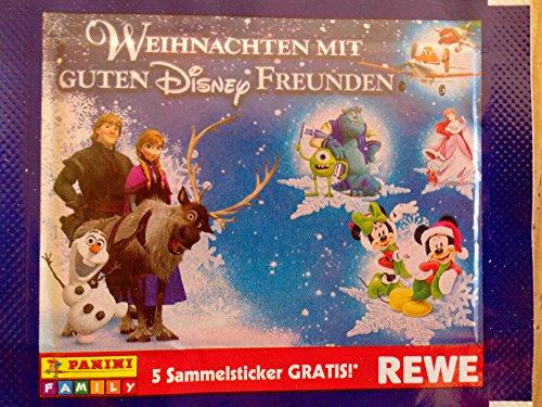 50 Tüten (250 Sticker) REWE Weihnachten mit Guten Disney Freunden REWE NEU OVP 2013