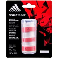 Adidas Badminton Racquet Overgrip, Wucht-P5 (White, Pack of 3).