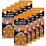 ANSMANN Hörgerätebatterien 13 orange Testsieger...