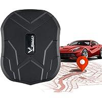Hangang Traceur GPS Longue Autonomie 150 Jours en Veille Suivi en Temps Réel Véhicules Tracker GPS Magnetique Étanche…