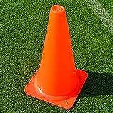 FORZA Training Markierungshütchen (10er-Set) - Fußballtraining Markierungsteller - 3 Größen erhältlich