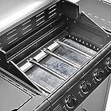 Clictrade Taino® Pro Set Gasgrill + Zubehör Grillplatte BBQ TÜV 4 Edelstahl Brenner 1 Seitenkocher - 3