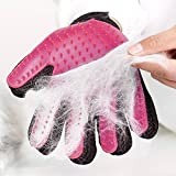 Siddhi Collection Rubber Massage Gloves for Animals Dog and Cat (Multicolour, Pet Glove_03)