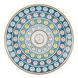 Vista Alegre porcelana calendario Centrepiece