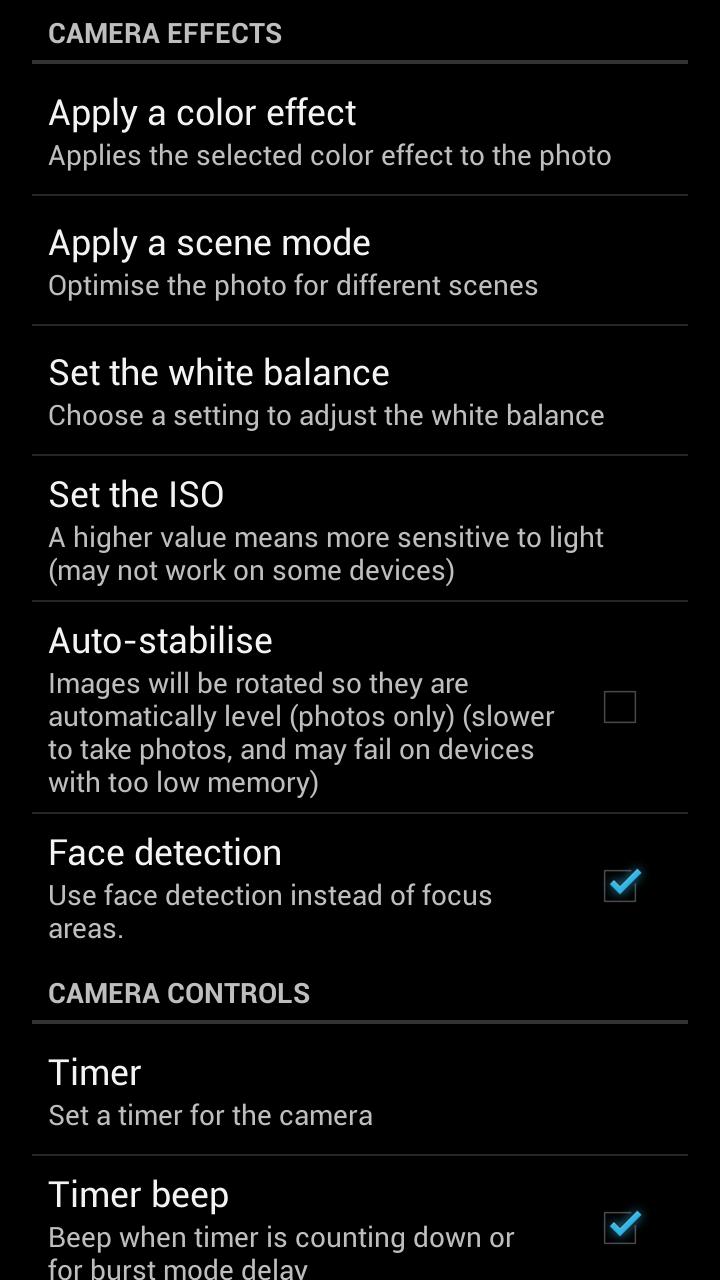 Simple Camera Capture d'écran