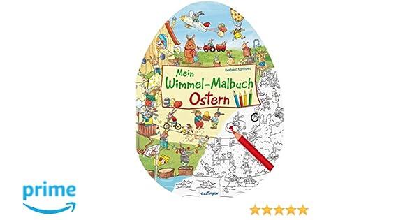 Mein Wimmel-Malbuch – Ostern: Amazon.de: Barbara Korthues: Bücher
