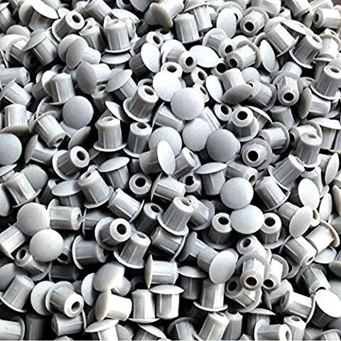 HARDWARE FOR YOU LTD 5MM COVER CAPS KITCHEN CABINET CUPBOARD UNIT DRILL HOLE FURNITURE CAPS (LIGHT