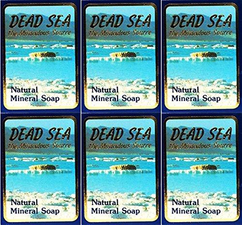 Malki Dead Sea Mineral Soap 90g x 6 Packs