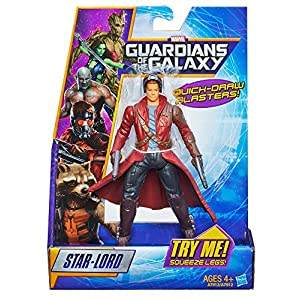 Guardianes de la Galaxia - Figura Peter Quill , Modelos/colores Surtidos, 1 Unidad 4