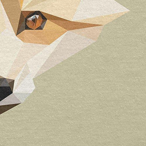 Texlab–Foxy polygons–sacchetto di stoffa Naturale