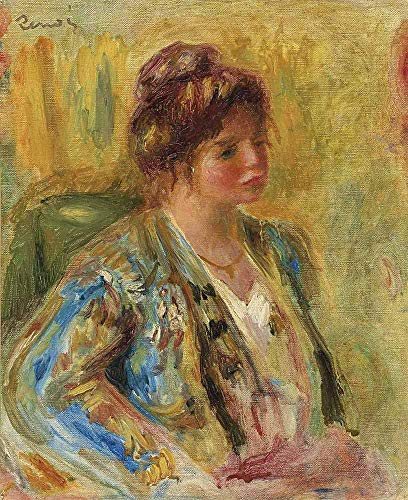 JH Lacrocon Pierre-Auguste Renoir - Buss Der Frau In Orientalem Kostüm Leinwandbilder Reproduktionen Gerollte 50X60 cm - Porträt Gemälde Gedruckt Wandkunst