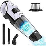 Kvvjvv Cordless Portable Handheld Vacuum Cleaner,Small Wet Dry Vacuum for Tile Wood Floors, Pet Hair, Car Seat