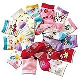 Aipark 12 Paires de Chaussettes Antidérapants en Coton avec des Petits Picots en bas...