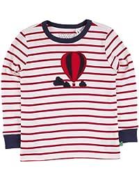 Fred's World by Green Cotton Balloon Stripe T, T-Shirt Bambino
