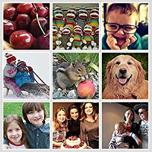 MFM Toys Xoxomags 9 Photo Fridge Magnets - Turn Your Photos Into Fridge Magnets (No Cod) - Personalised Printed Magnets Perfect Gift