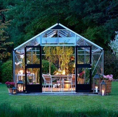 Serre en verre trempé Gardener 18,8m² Gardener_toughenedglass18_Alu1