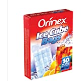 Orinex Ice Cube Bags , 10 Bags - Clear
