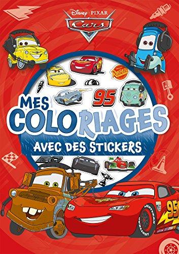 CARS - Mes coloriages avec stickers