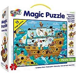 Puzle mágico – Barco Pirata.