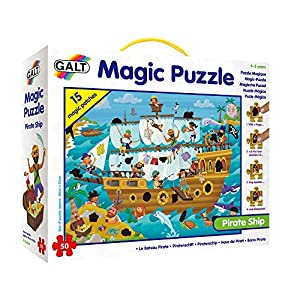 Galt Toys- Caribe Puzle Mágico - Barco Pirata (GA1003850)