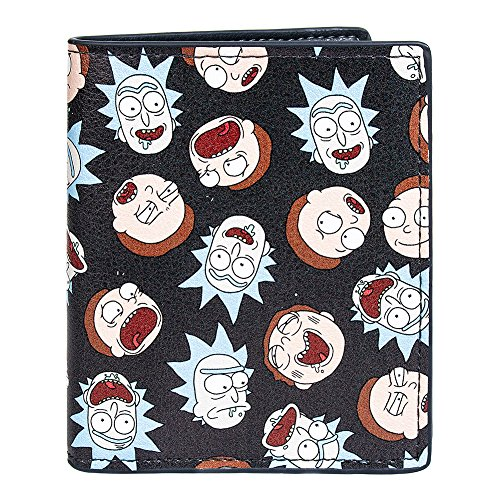 Cartera/Monedero Rick and Morty - Personajes