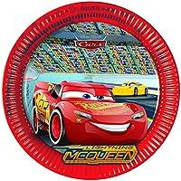 Qualatex 17747 Disney Cars 3 Party Plates, Large