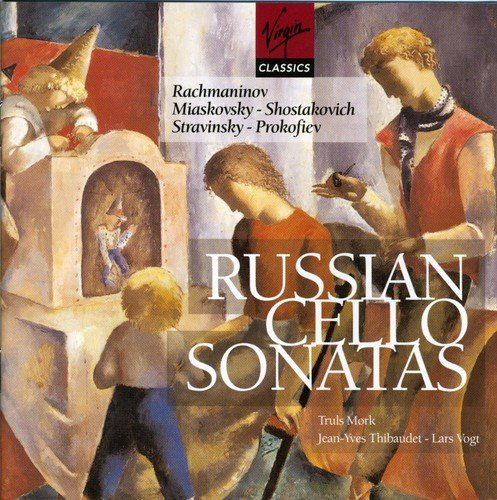 Russian Cello Sonatas Test