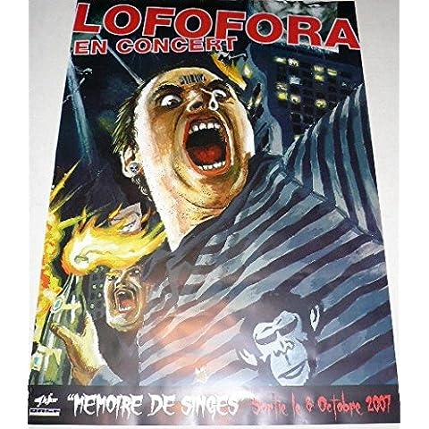 Lofofora-Memoria di scimmia, 70 x 100 cm-Poster locandina