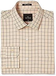 Park Avenue Mens Formal Shirt (8907663201480_PMSX09682-F4_Medium Fawn_40)