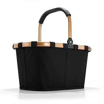 Reisenthel carrybag frame schwarz gold 22 Liter Einkaufskorb ...