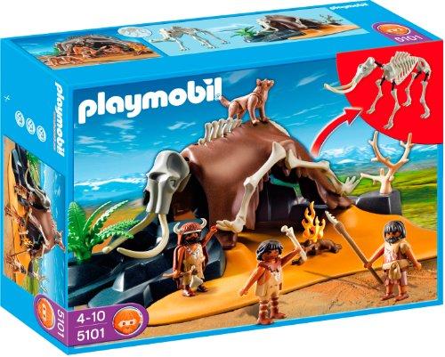 Playmobil - 5101 - Jeu de construction - Tente préhistorique avec...