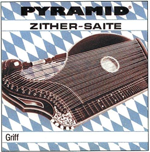 Pyramid Pyramid Saite für Zither Zither Griff. Münchner Stimmung D Bronze