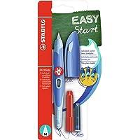 Stylo Plume - STABILO Easybirdy - Blister X 1 Stylo Plume Droitier + 1 Clé de Réglage - Bleu Pastel