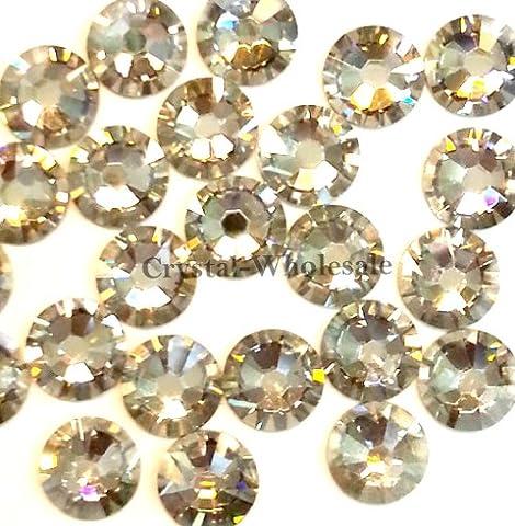144 pcs Crystal Silver Shade (001 SSHA) Swarovski 2058 Xilion / NEW 2088 Xirius 16ss Flat backs Rhinestones 4mm ss16 by Crystal-Wholesale