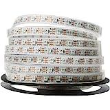 NooElec 1 m 60 pixlar adresserbar 24-bitars RGB LED-remsa, 5 V, IP68 vattentät, WS2812B (WS2811), 4-stifts JST-SM kontakter f