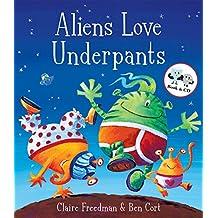 Aliens Love Underpants (Book & CD)