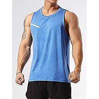 GYMAPE Canotte da Allenamento atletiche da Uomo Canotte da Corsa muscolose Senza Maniche Allenamento Quick Dry Gym…
