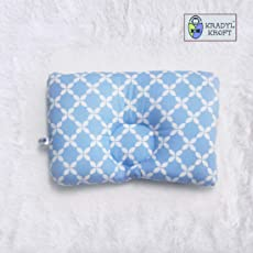 Kradyl Kroft Head Sleeping Pillow for Baby (Happy Blue)