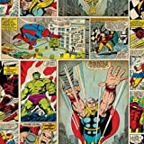 Graham & Brown Papier-Tapete marvel comic strip Kollektion Kids Home IV, mehrfarbig, 70-264