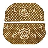 Dekorative Nacken Patch-Paisley Beige Crafting Traditionelle Kleidung nähen auf Indien