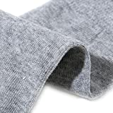 2 Paar Uunisex Kurze Zehensocken für Damen, Herren und Kinder, für Sport und Freizeit, geeign. für Zehenschuhe aus Baumwolle (90%)
