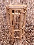 Bambushocker Bambus Bambustisch Blumenhocker Hocker Stuhl Lai Tao 40 x 76 cmThekenhocker