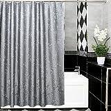 Duschvorhänge,Bad Trennwand Vorhang Wasserdicht Anti Schimmel Verdicken Sie Halten Sie Warm-B 120x180cm(47x71inch)